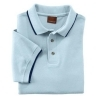 Men's Short-Sleeve Pique Polo with Tipping