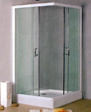 assembled shower room