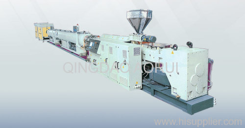 PE water pipe production line