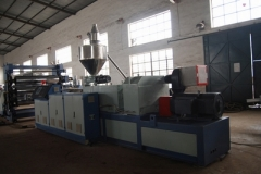 Fiberglass mesh five-layer construsion template making machine