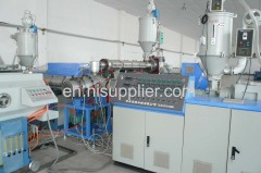 Pe tube extrusion line for water supply and gas purpose
