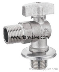 Brass Vertical Angle Ball Valve