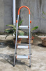 Alumium household ladder with 4 steps