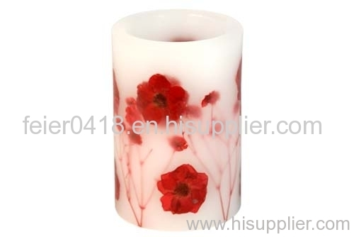 led colorfull candle light