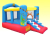 Tropical Fish Bounce House with Ball Pit