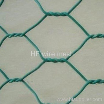 Fencing PVC coated hexagonal wire mesh