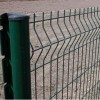 PVC coated welded airport fence