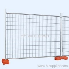 Electro galvanized welded temporary fence