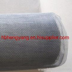 white fabric fiberglass window mesh