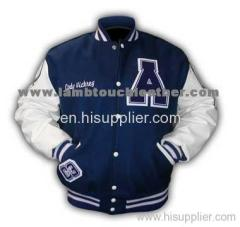 Report Suspicious Activity Bass-Ball Leather Sleeves Varsity Soccer Letter Men Jackets