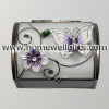 Butterfly Chest Style GlassTrinket Box