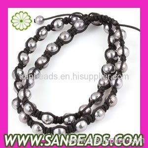 Shamballa Beads Necklace Jewelry