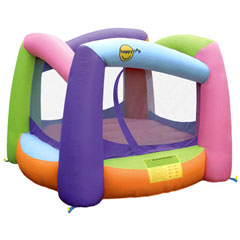 Colorful Square Bounce House