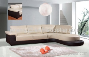 Italy top-grain leather sofa