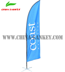 beach display banner for advertising promotion