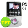 ZKS-iColor8Fingerprint TFT time attendance & access control