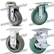 heavy duty TPR caster
