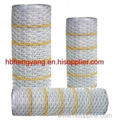 galvanized and PVC spray hexagonal wire mesh