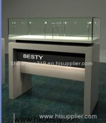 Watch display counter showcase for jewelry watch or diamond exhibition