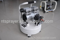 no noise oilless portable air compressor