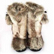 fur girl boots ,fashion women's boot ,women's shoes .lady shoes