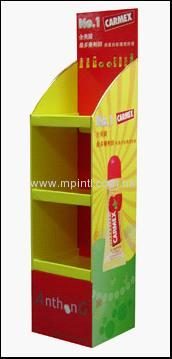 We can supply all kinds of paper display stand & display shelf