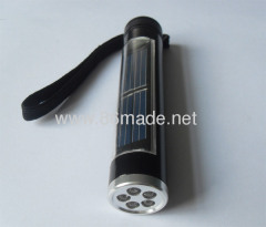 5 leds solar torch, solar lightsight with led