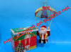 Christmas Parachute Santa Claus Decoration