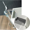 Floor standing waterfall bath shower mixer