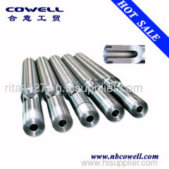 Bimetallic barrel screw