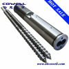 Twin screw barrel for extruder machine