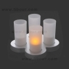 LED Candela Glow Rechargeable candle Light