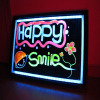 Fashionable & popular LED write and shine board