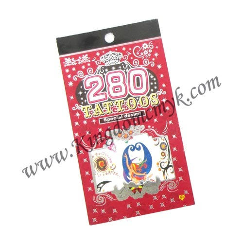 Beauty Tattoo Stickers Book for Woman