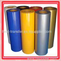 PVC heat transfer film,cutting film,garments film