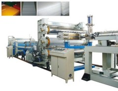 plastic floor plate making line