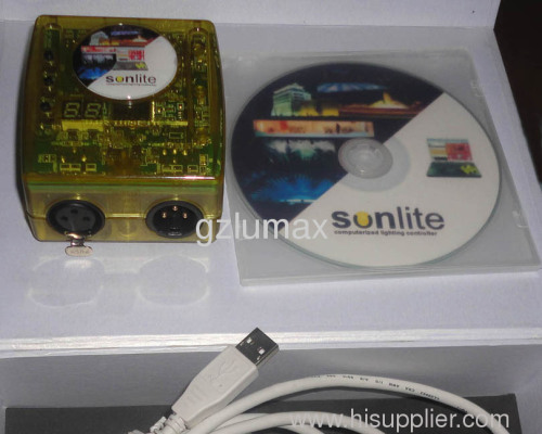 Sonlite USB PC DMX Controller 1024CH products - China products
