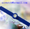 silicone watch A silica gel wristwatches
