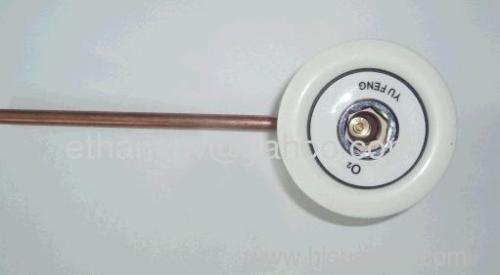 German-style Gas Oxygen Outlet