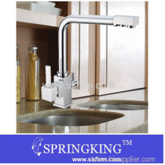 TRI FLOW 3 WAY KITCHEN TAP WITH WATER FILTER