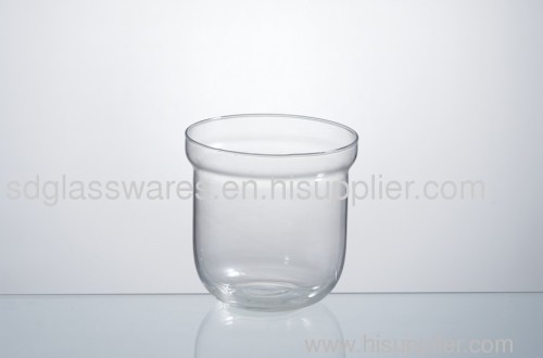 glass candle cup