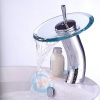 Tall Waterfall Glass Basin Mixer