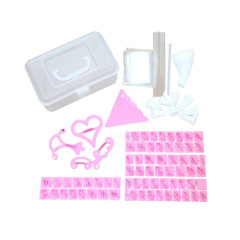 New Multi-Use Cookie / Cake Maker set in Plastic Box