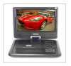 9 inch portable dvd player supporting USB/SD/MS/MMC card read 3D