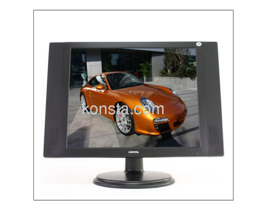 19 inch LCD TV with TV/VGA/AV input Earphone output