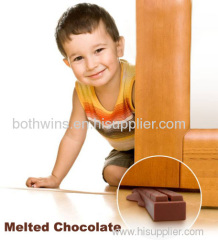 Melted Chocolate Door Stopper