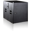 "LA110S dual 15"" subwoofer line array speaker"