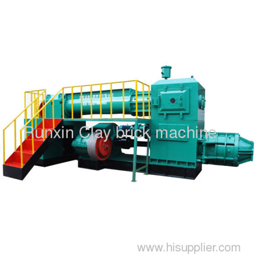 automatic clay brick extruder machine
