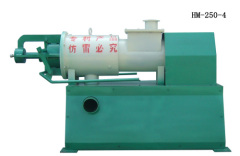 The spiral extrusion animal dung solid-liquid separator/processor