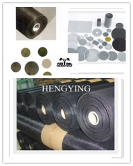black wire cloth for filtering